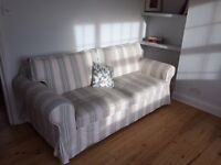 Free sofa bed, double bed, mattress and desk for grabs till Friday