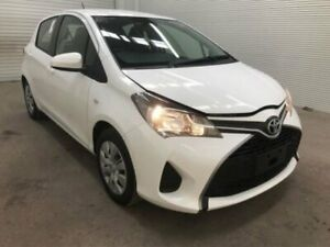 2016 Toyota Yaris NCP130R MY15 Ascent Glacier White 4 Speed Automatic Hatchback Bohle Townsville City Preview