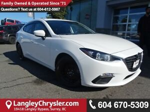 2015 Mazda Mazda3 GX *ACCIDENT FREE*ONE OWNER*LOCAL BC CAR*