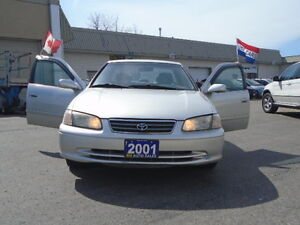 2001 TOYOTA CAMRY { E TEST&CERTIFIED } R.H AUTO SALES