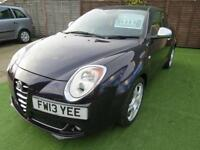 2013 Alfa Romeo Mito 1.4 TB MultiAir Veloce 3dr ONE FORMER KEEPER FROM