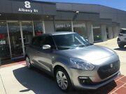 2017 Suzuki Swift AZ GL Navigator Silver 1 Speed Constant Variable Hatchback Fyshwick South Canberra Preview