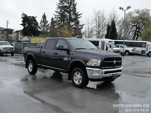 2013 DODGE RAM 2500 OUTDOORSMAN CREW CAB SHORT BOX 4X4 *DIESEL*