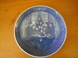 1983 Royal Copenhagen Christmas Plate