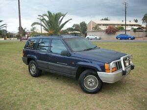 1996 Jeep Grand Cherokee ZG Limited (4x4) 4 Speed Automatic 4x4 Wagon Alberton Port Adelaide Area Preview