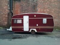 Abbey Lancaster 4 berth caravan