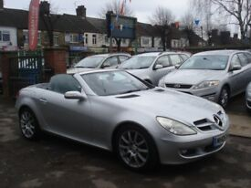 Mercedes-Benz SLK 200K, 2005 Model, Full MOT, FSH, Full Black Leather
