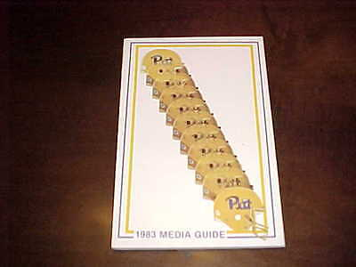 1983 Pitt Panthers Football Media Guide
