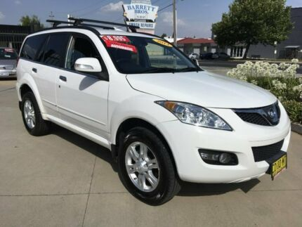 2014 Great Wall X200 K2 MY14 White 5 Speed Automatic Wagon Fyshwick South Canberra Preview