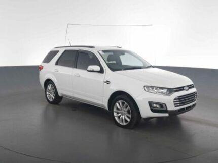 2015 Ford Territory SZ MKII TS SEQ SPORT SHIFT Winter White Steptronic Wagon Virginia Brisbane North East Preview