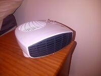2KW Argos White Fan Heater, Manual + Box, Good As New, Barely Used