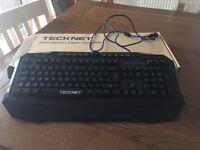Professional gaming keyboard