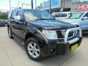 2008 Nissan Pathfinder R51 MY08 TI Black 5 Speed Automatic Wagon Holroyd Parramatta Area Preview