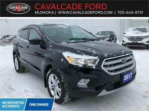 2017 Ford Escape SE 4WD with heated frt seats & backup camera!!