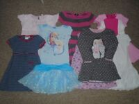 Bundle of 8 girls dresses 4-5 years in good condition-post it