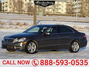 2013 Mercedes-Benz E-Class E350 4MATIC Accident Free,  Navigatio