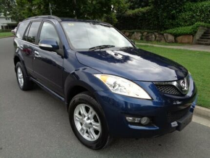 2012 Great Wall X200 CC6461KY MY11 (4x4) Blue Metallic 6 Speed Manual Wagon Chermside Brisbane North East Preview