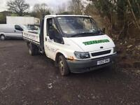 2002 FORD TRANSIT DROP SIDE ALLOY BODY SPARES OR REPAIRS