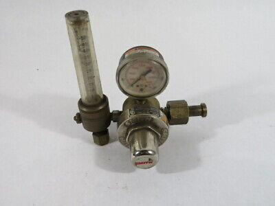 Smith 32-30-580 1 Stage Series 30 Selec-o-gas Flowmeter Regulator Used