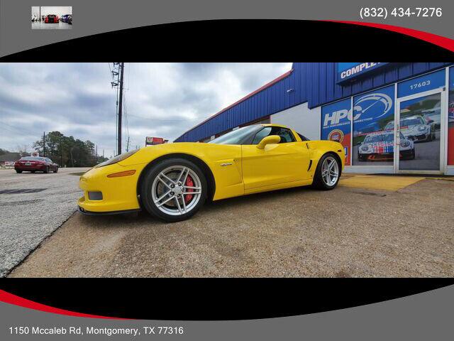 2007 Yellow Chevrolet Corvette Z06  | C6 Corvette Photo 1
