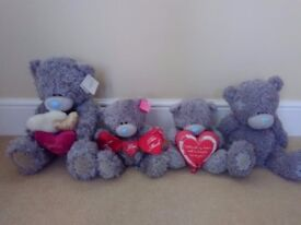 4 x Me to you bears (medium/large - some New)