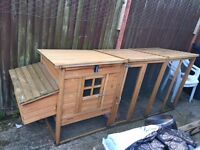 CHICKEN COOP- ONE YEAR OLD- GOOD CONDITION