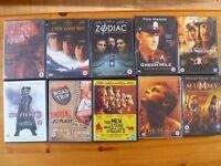 Mixed 50 Film DVD Bundle,region 2