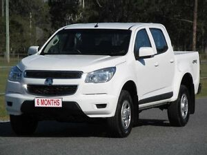 2015 Holden Colorado RG MY16 LS Crew Cab White 6 Speed Sports Automatic Utility Stapylton Gold Coast North Preview
