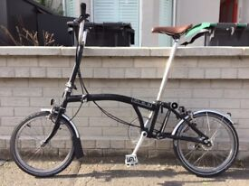 Brompton M3, just gold-serviced, excellent condition £650