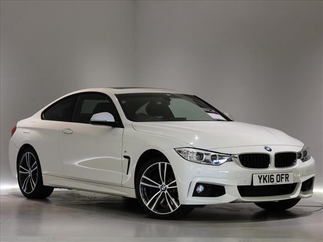 2016 BMW 4 SERIES DIESEL COUPE
