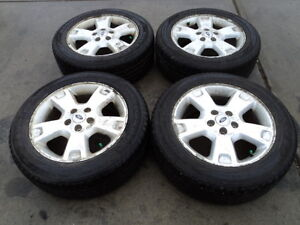 4 Goodyear Tires with Alloy Rims for Ford Vehicles