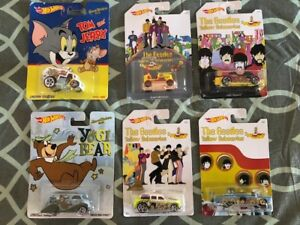Hotwheels Beatles and Hanna Barbera sealed in packages