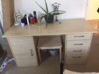 FREE large two sided desk available