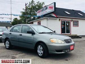 2003 Toyota Corolla, cheap cars, honda, mazda, nissan,