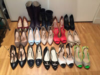 tons and tons of clothes, shoes, purses, and jewellery
