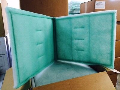 20 x 50 series 55 tacky intake filter spray booth case for Paint booth intake filters 20x20