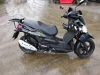 Sym 125cc 2010 damaged