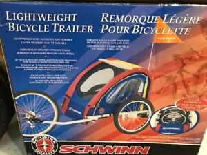 remorque légère pour bicyclette