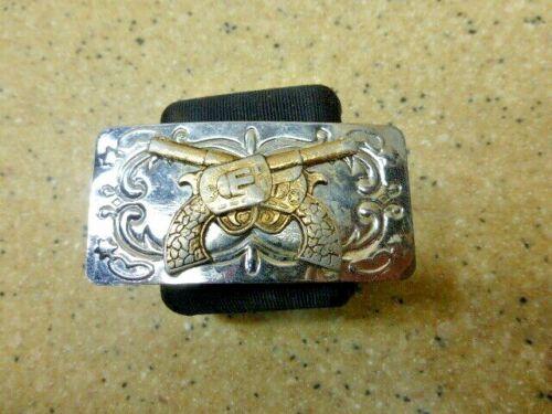 Vintage Silver Western Belt Buckle-Japan