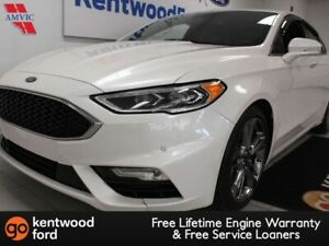 2017 Ford Fusion Sport AWD ecoboost, NAV, sunroof, heated/cooled