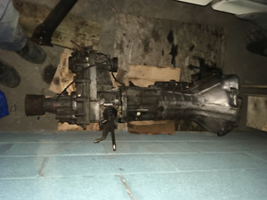 Pajero 4WD Manual Transmission and Transfer Case + Starter