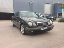 1996 Mercedes-Benz E230 W210 Classic Black 5 Speed Automatic Sedan Spotswood Hobsons Bay Area Preview