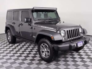 2016 Jeep Wrangler Unlimited RUBICON w/LEATHER, NAVIGATION, NEW