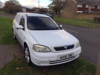 Vauxhall Astra Van for sale good condition for the age very good runner and very clean