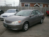 2004 Toyota Camry LE/NO RUST/OWNED BY MACHANIC/must see