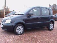 FIAT PANDA 1.1 ECO ACTIVE 5 DOOR £30.00 ROAD TAX BLUE £2395