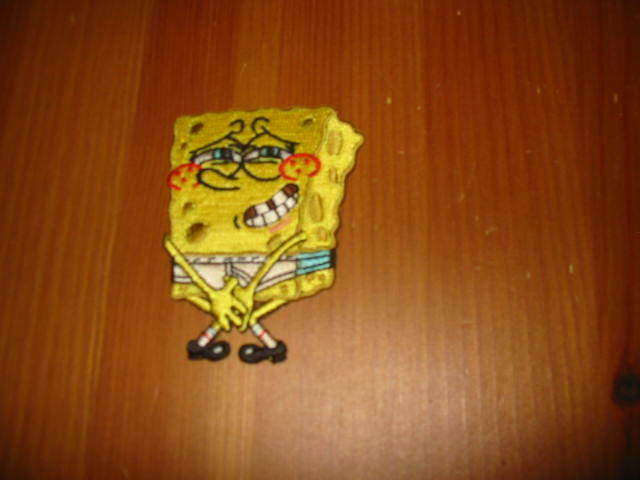Spongebob Squarepants in Underwear Patch ~ Free Shipping!