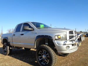 LIFTED--2004 Dodge Power Ram 2500HD-Laramie-LEATHER-5.7L V8 HEME