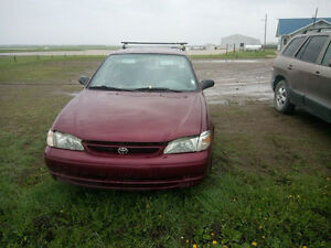 1998 Toyota Corolla Sedan MORDEN ( NOT WINNPEG, 100 K South )