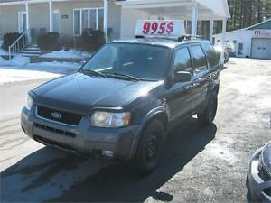 Ford Escape XLT 4X4 2004 PETIT BUDGET !!!